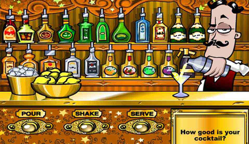 Bartender: The Right Mix Game Information | Free Flash ...  Bartender: The ...